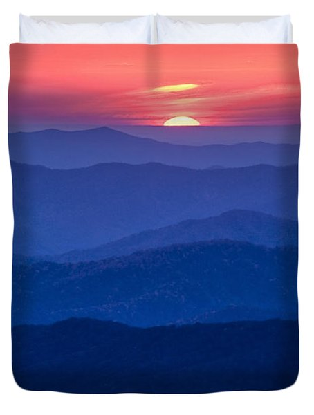 Another Day Ends Duvet Cover