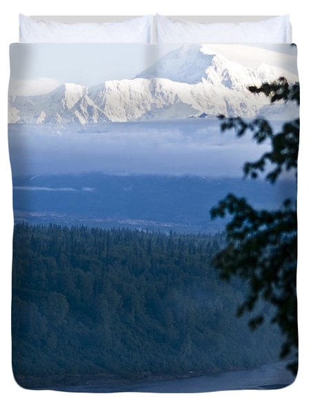Another Denali View  Duvet Cover
