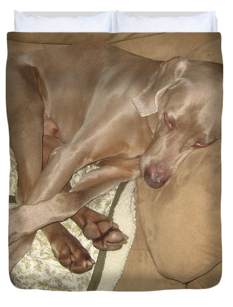 Another Dog Day Duvet Cover