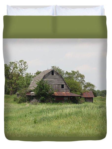Another Missouri Barn Duvet Cover