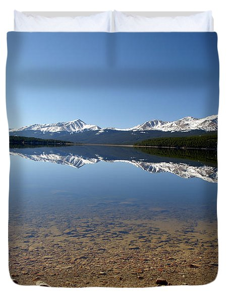Another Perfect Day Duvet Cover by Jeremy Rhoades