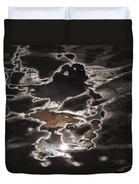 Duvet Cover featuring the photograph Another Sky by Rona Black