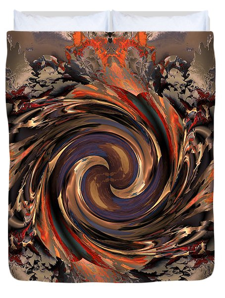 Another Swirl Duvet Cover