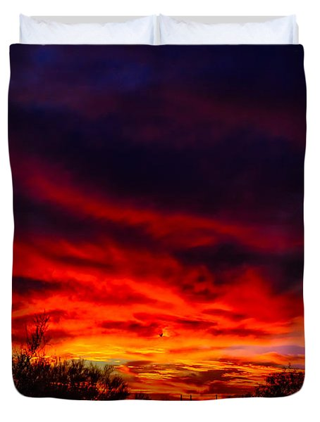 Another Tucson Sunset Duvet Cover