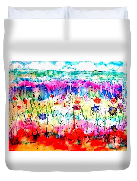 Another World Duvet Cover