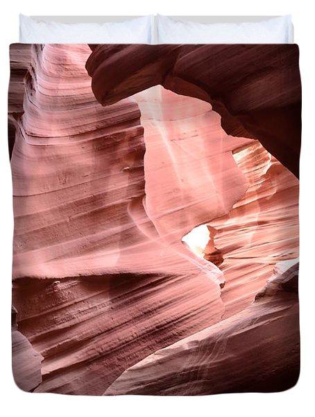 Antelope Canyon Page Az Duvet Cover by DejaVu Designs