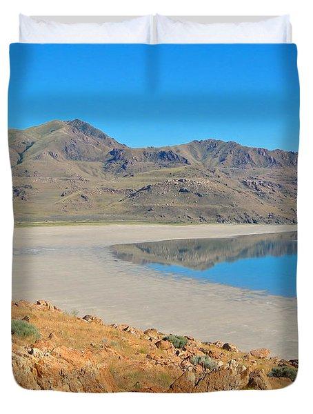 Antelope Island Duvet Cover
