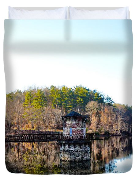 Antietam Creek - Berks County Pa. Duvet Cover