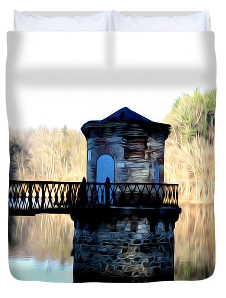 Antietam Creek Reading Pa Duvet Cover by Bill Cannon