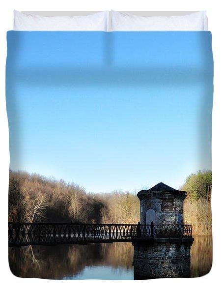 Antietam Lake Near Reading Pa Duvet Cover