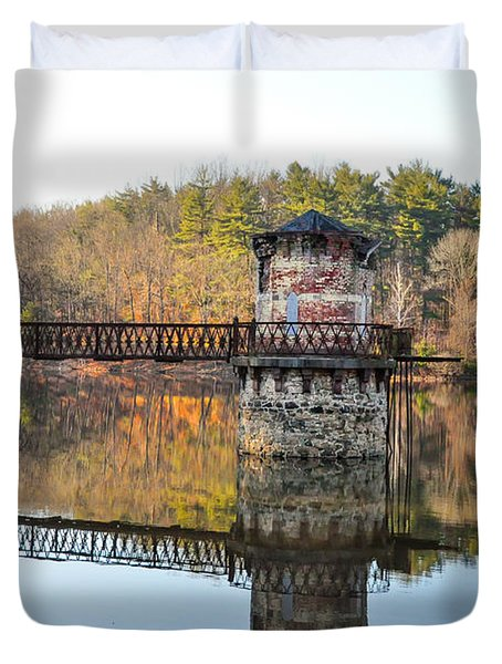 Antietam Lake - Reading Pa Duvet Cover