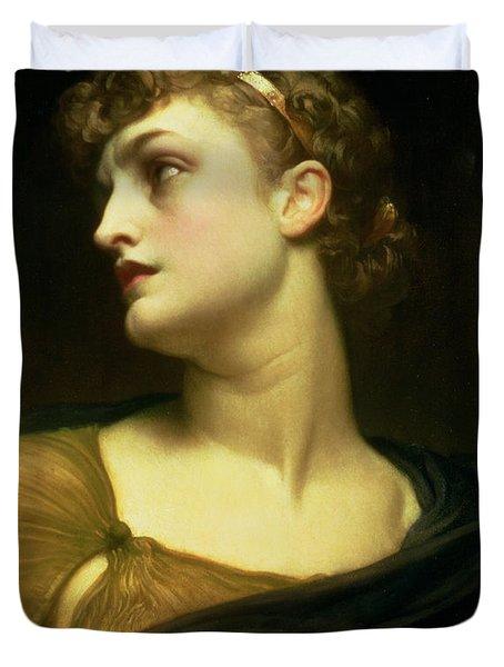 Antigone Duvet Cover by Frederic Leighton