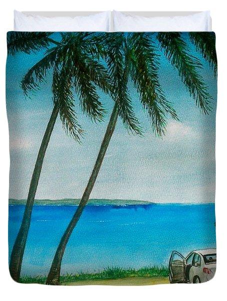 Antigua Duvet Cover
