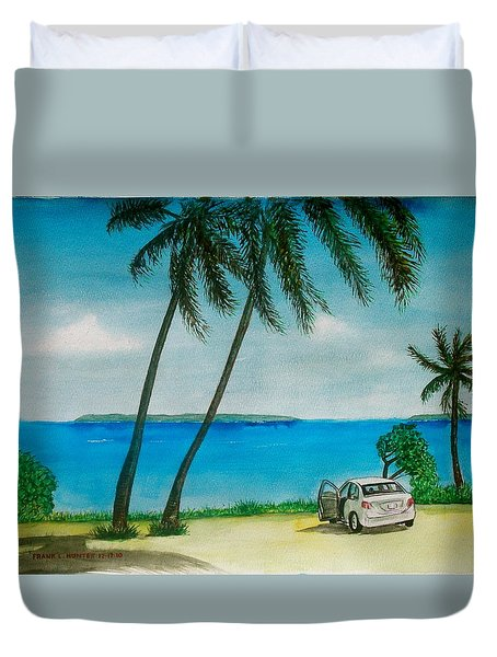 Antigua Duvet Cover by Frank Hunter