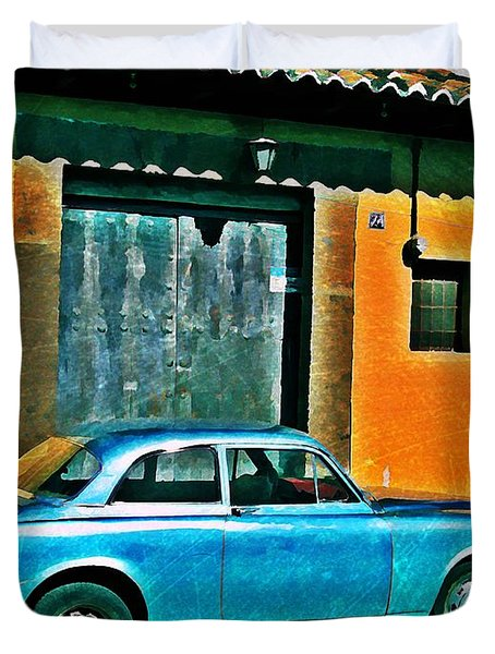 Antigua Volvo Duvet Cover