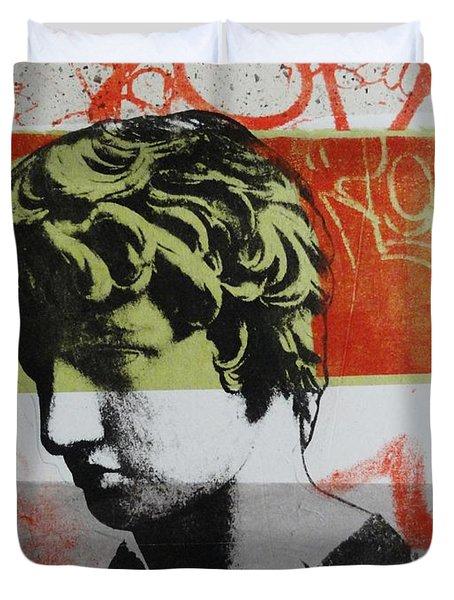 Antinous V Duvet Cover by Carmine Santaniello