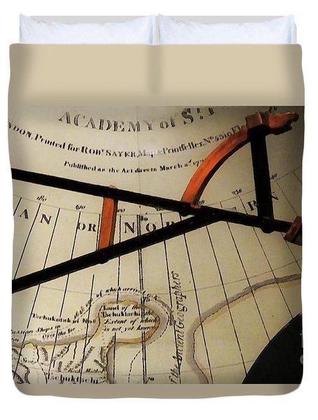 Antiquaria Nautica Duvet Cover by RC deWinter