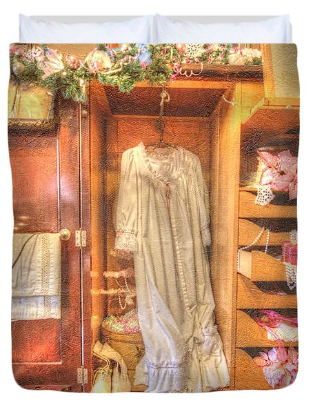 Antique Armoire Duvet Cover