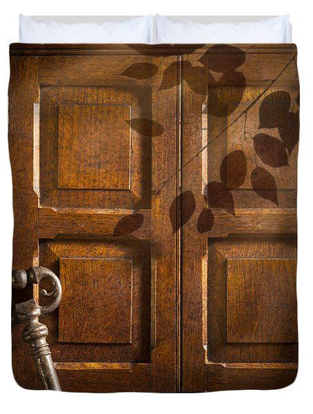 Antique Cabinet Duvet Cover