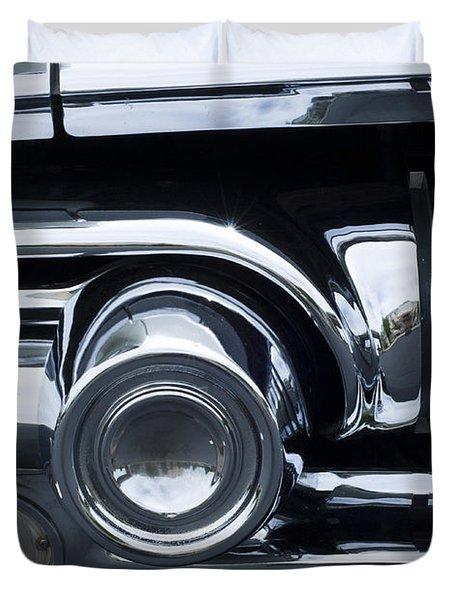 Antique Car Grill Duvet Cover