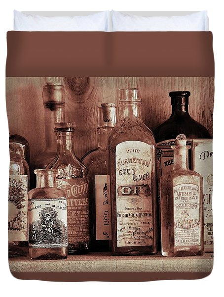 Antique General Store Display 1 Duvet Cover