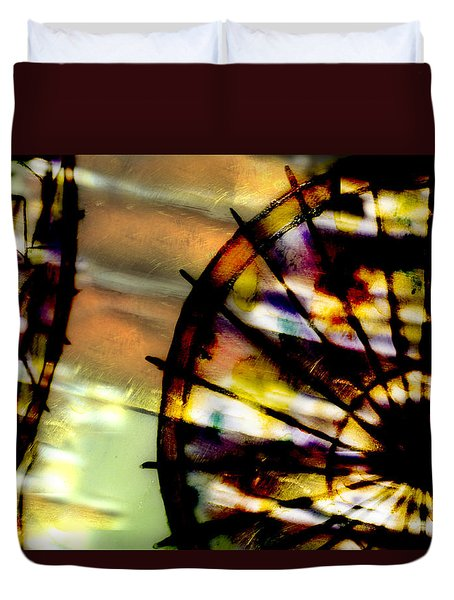 Color Wheel Duvet Cover by Don Gradner