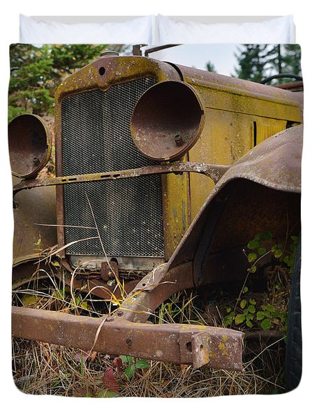 Antique Pickup Truck Duvet Cover