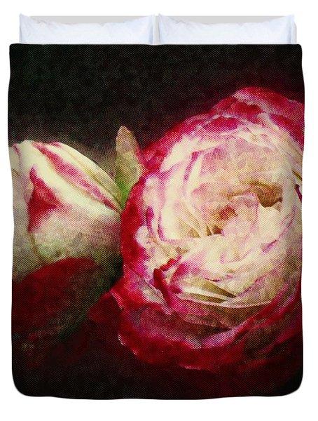 Antique Romance Duvet Cover