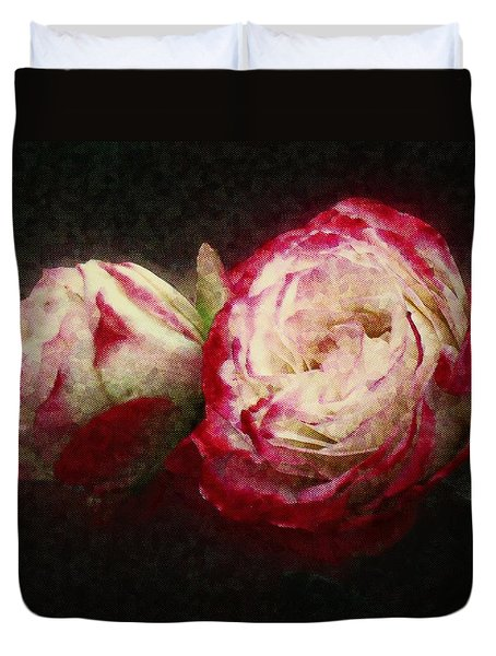 Antique Romance Duvet Cover by RC deWinter