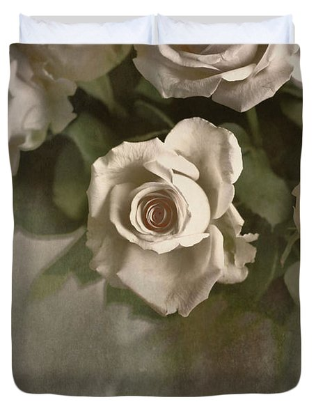 Antique Roses Duvet Cover