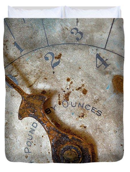 Antique Scale Duvet Cover by Sebastian Musial