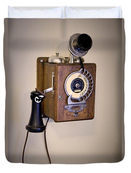 Antique Telephone Duvet Cover