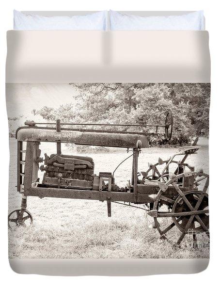 Antique Tractor Duvet Cover