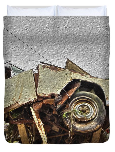 Antiques Broken Duvet Cover