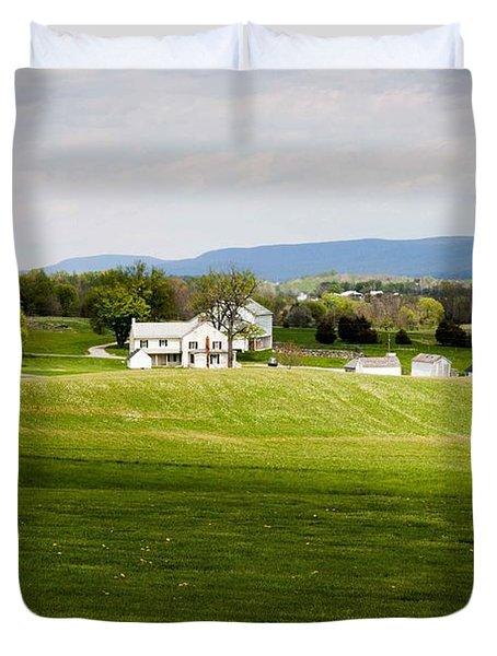 Antietam Battlefield Duvet Cover