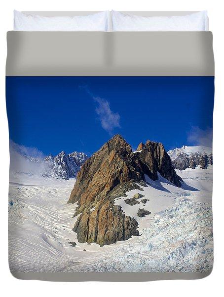 Aoraki Mount Cook Duvet Cover by Venetia Featherstone-Witty