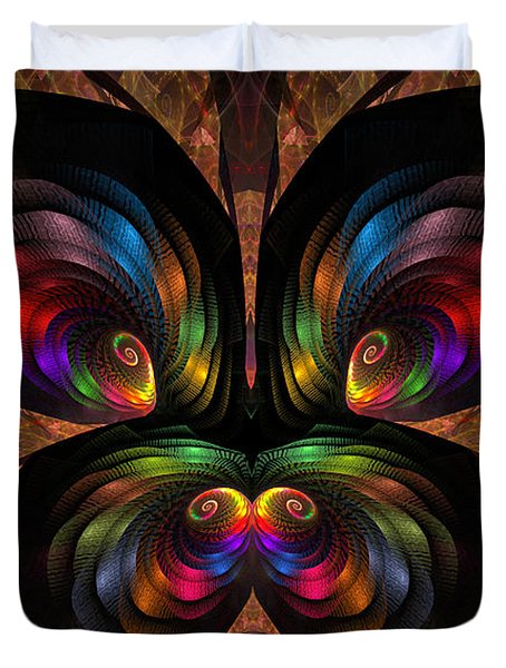 Apo Butterfly Duvet Cover by GJ Blackman