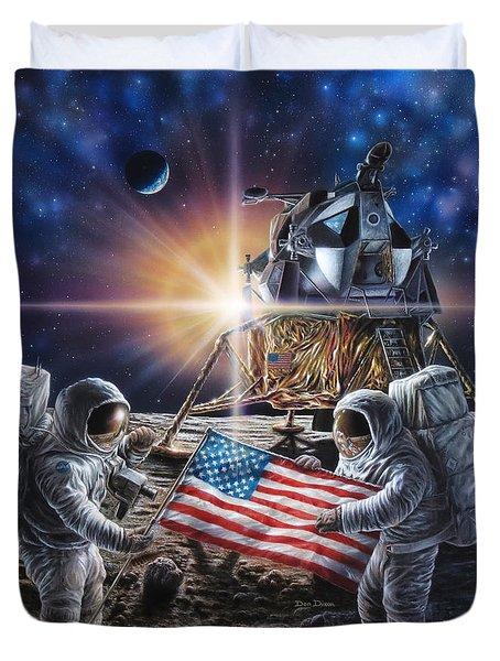 Apollo 11 Duvet Cover by Don Dixon
