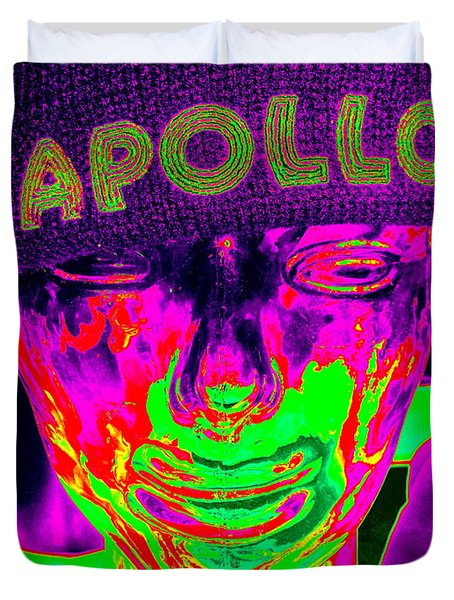 Apollo Abstract Duvet Cover by Ed Weidman