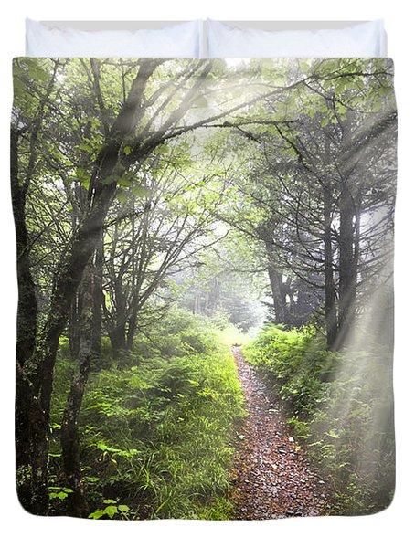 Appalachian Trail Duvet Cover