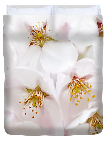 Apple Blossoms Duvet Cover by Elena Elisseeva