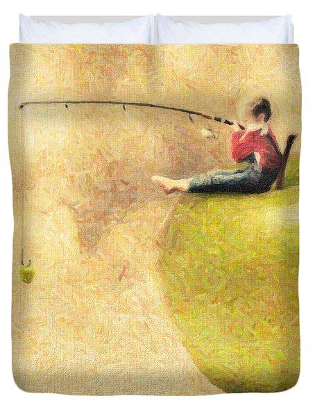 Apple Dream Duvet Cover