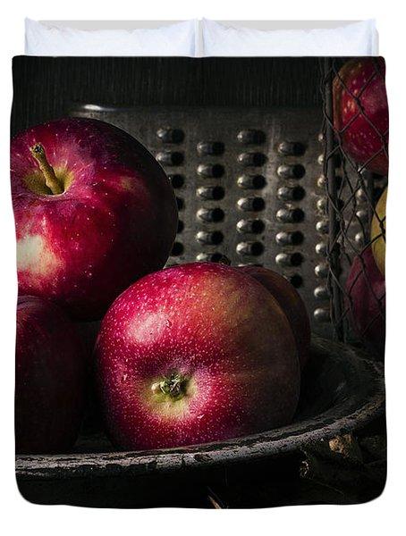 Apple Harvest Duvet Cover by Edward Fielding