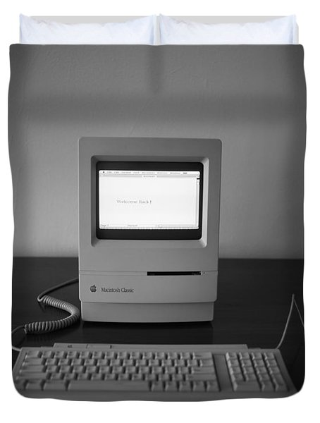 Apple Macintosh Classic Desktop Pc Duvet Cover