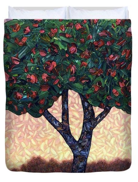 Apple Tree Duvet Cover
