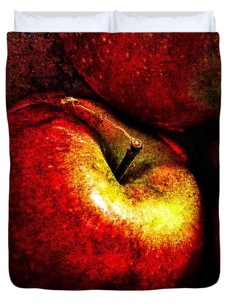 Apples  Duvet Cover