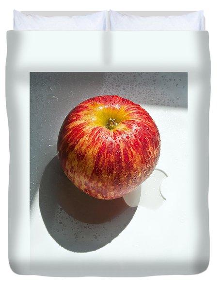 Apples Duvet Cover by Daniel Furon