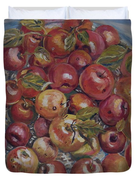 Apples Duvet Cover