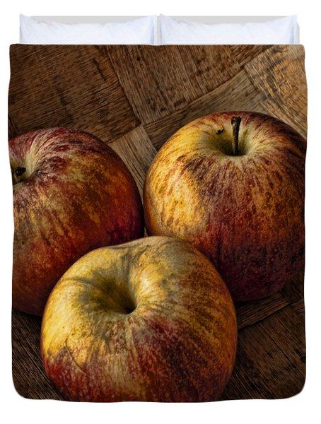 Apples Duvet Cover by Steve Purnell