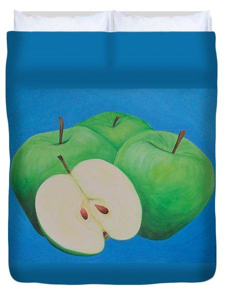 Apples Duvet Cover by Sven Fischer
